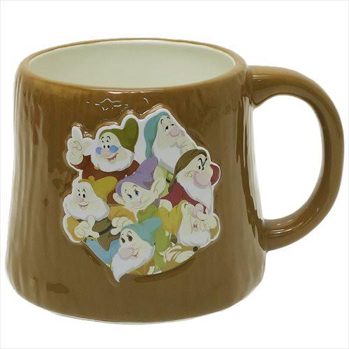 白雪姫 マグカップ きり株マグ 七人のこびと ディズニー キャラクター グッズ