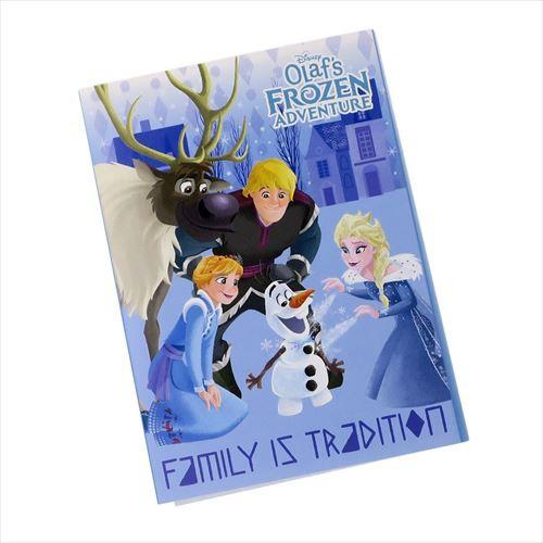 アナと雪の女王 メモ帳 パタパタメモ 家族の思い出 ディズニー キャラクターグッズ通販 メール便可