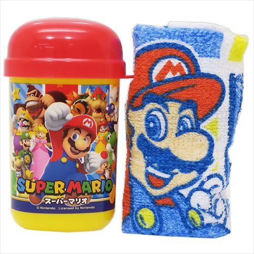 スーパーマリオ ランチ雑貨 おしぼりセット MARIO17 nintendo キャラクターグッズ通販