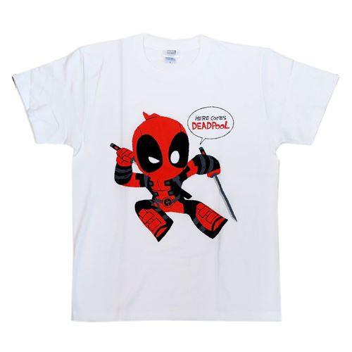 デッドプール Tシャツ T-SHIRTS Gurihiru マーベル キャラクターグッズ通販 メール便可