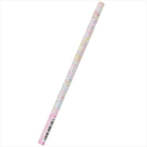 リトルツインスターズ キキ&ララ 鉛筆 パール丸軸えんぴつ2B 5007674 サンリオ キャラクターグッズ通販 メール便可