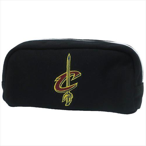 クリーブランドキャバリアーズ ペンケース 角型ペンポーチ ブラック NBA バスケットボールグッズ通販