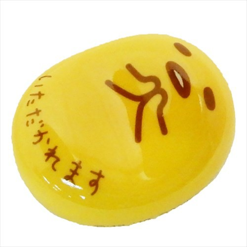 ぐでたま 豆箸置き 磁器製チョップスティックレスト いただかれます サンリオ ギフト雑貨 キャラクター グッズ メール便可