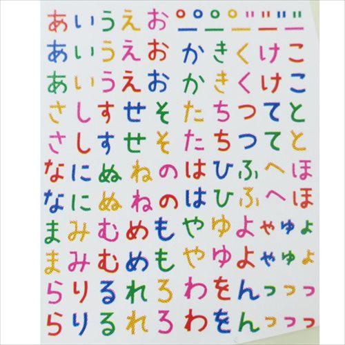 ひらがな キャラ弁雑貨 たべられるアート 文字 かわいい おもしろZAKKA グッズ メール便可