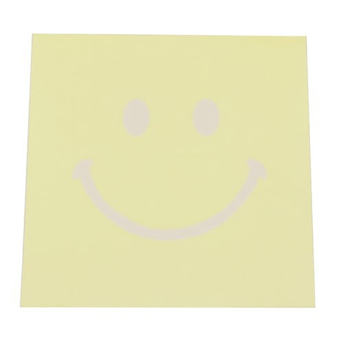 スマイリー メモ帳 ブロックメモ BIG SMILEY Smiley Face 4柄180枚 キャラクター グッズ メール便可