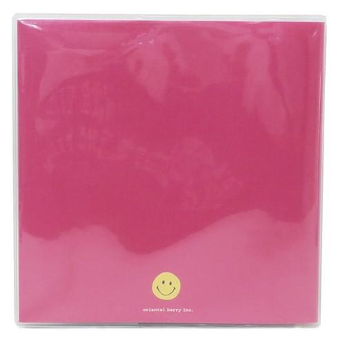 スマイリー フォトアルバム 台紙に書けるフリーアルバム Colorful Smile Smiley Face カラー粘着台紙タイプ メール便可