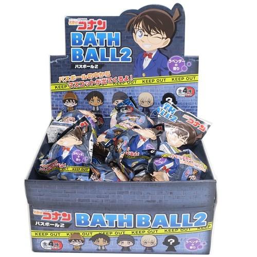名探偵コナン 入浴剤 マスコットが飛び出すバスボール ver2 ラベンダーの香り アニメキャラクター グッズ
