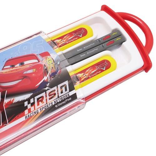 カーズ カトラリーセット 食洗機対応 スライド式トリオセット Cars19 ディズニー お箸+スプーン+フォーク メール便可