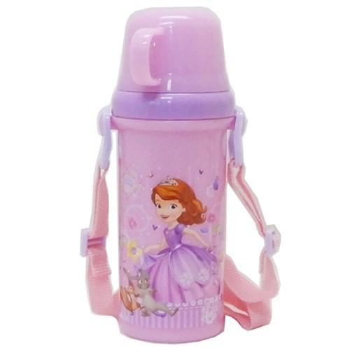 ちいさなプリンセス ソフィア 水筒 直飲み コップ付き プラボトル Sofia 19 ディズニー 480ml キャラクター グッズ