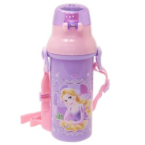塔の上のラプンツェル 水筒 直飲み プラ ワンタッチボトル 19 ディズニープリンセス 480ml キャラクター グッズ