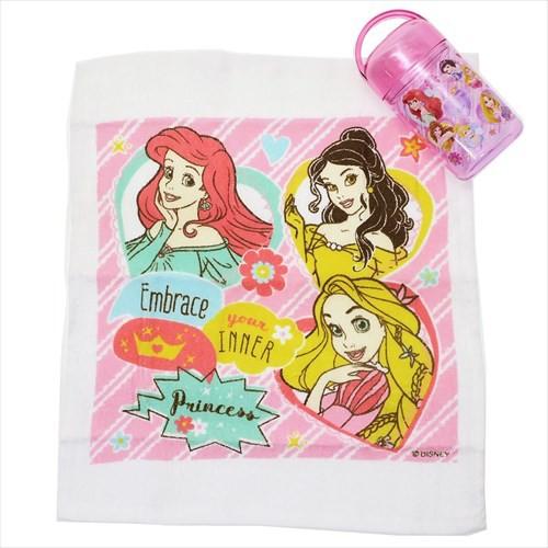 ディズニープリンセス ランチ雑貨 おしぼりセット Princess 19 ディズニー 遠足雑貨 キャラクター グッズ