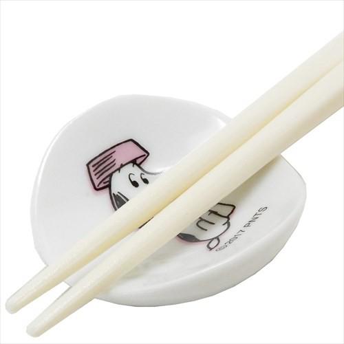 スヌーピー 箸置き ミニマメザラ PK ピーナッツ 日本製 キャラクター グッズ メール便可