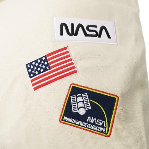 NASA ショルダーバッグ 刺繍 ワッペン トートバッグ ワーム ワッペン 宇宙 2WAY 斜め掛け かばん ファッション グッズ