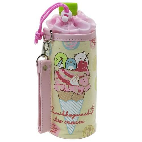 すみっコぐらし ボトルカバー スウェット 保冷 ペットボトルホルダー 水筒ケース サンエックス 500ml対応 キャラクター グッズ