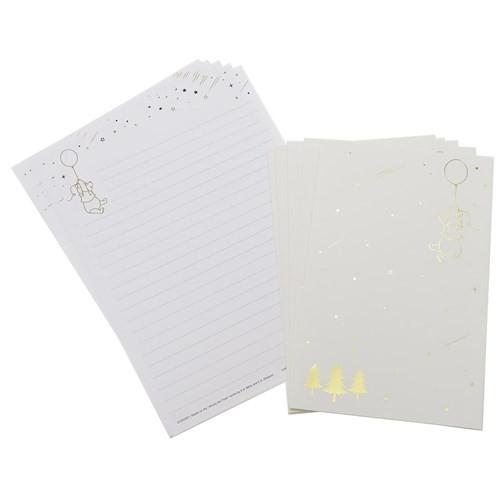 くまのプーさん レターセット STARRY SKY LETTER ディズニー 便箋&封筒 キャラクター グッズ メール便可