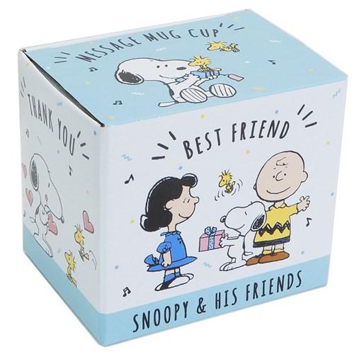 スヌーピー マグカップ メッセージ マグ HAPPY BIRTHDAY おめでとう ギフト食器 キャラクター グッズ