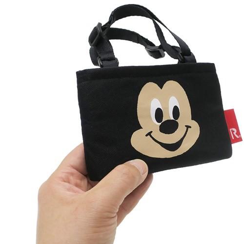 ミッキーマウス カップホルダー バッグ ルーカップ ディズニー 保温保冷 キャラクター グッズ メール便可