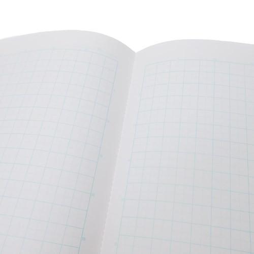もちもちぱんだ 方眼 ノート B5 学習 ノート カラーテーマ ブルー 新学期準備雑貨 キャラクター グッズ メール便可