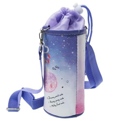 ペットボトルホルダー HAPPY BOTTLE 保冷 ボトルケース 2019SS ショルダーストラップ付き キャラクター グッズ