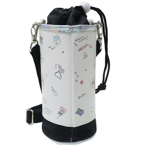 ペットボトルホルダー MY FAVORITE KOREA 保冷 ボトルケース 2019SS ショルダーストラップ付き キャラクター グッズ