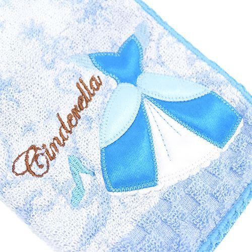シンデレラ ペットボトルホルダー ファスナー付き タオル ドレス ディズニープリンセス かわいい キャラクター グッズ メール便可