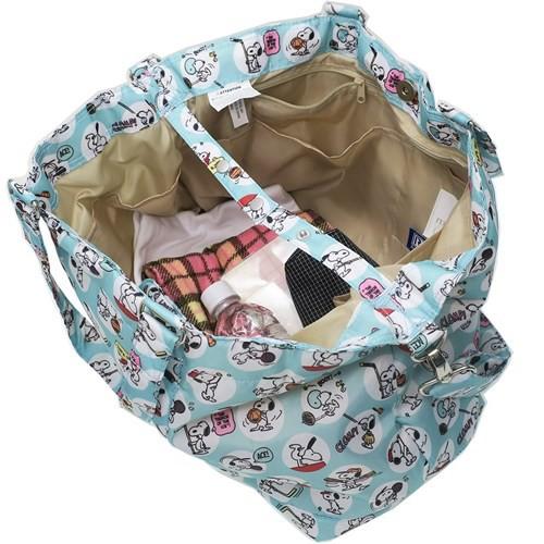 スヌーピー ミニバッグ & おむつ替えシート付き マザーバッグ 2way マミールー Sports ピーナッツ ママ雑貨 送料無料