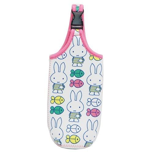 ミッフィー ペットボトルホルダー ボトルケース しましまシリーズ おさかな ディックブルーナ かわいい 絵本キャラクター グッズ