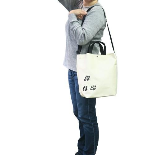 スヌーピー トートバッグ 耳付き ショルダートート フェイス横向き ジョークール ピーナッツ 24.5×35.5×130mm キャラクター グッズ