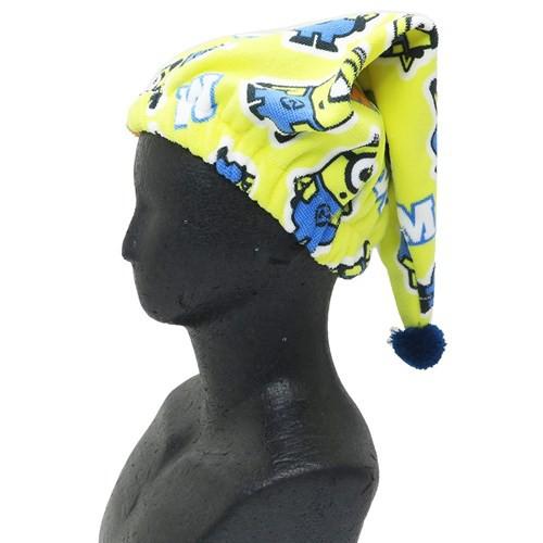 ミニオンズ ヘアドライ タオル 帽子 マイクロファイバー キャップタオル リピートミニオン ユニバーサル映画 お風呂上り メール便可