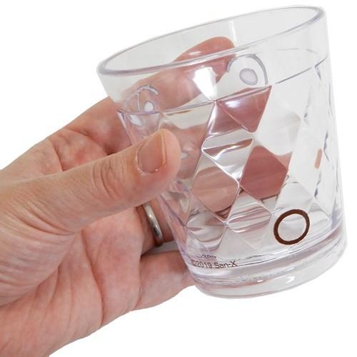 すみっコぐらし 透明 プラコップ キラキラ クリアカップ しろくま サンエックス 270ml キャラクター グッズ