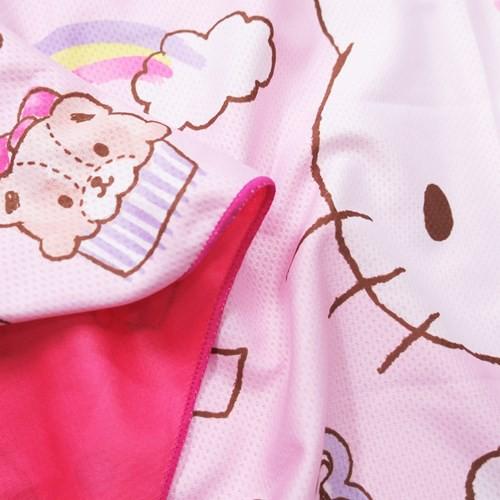 ハローキティ ひんやり 夏用 タオル クール マフラータオル サンリオ 30×100cm キャラクター グッズ メール便可