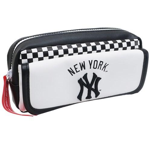 メジャーリーグベースボール 筆箱 フロントフラップ ペンケース ニューヨークヤンキース MLB 新学期準備雑貨 キャラクター グッズ