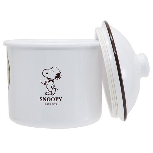 スヌーピー 食品保存容器 ラウンドストッカー L 2019SS ピーナッツ 1000ml キャラクター グッズ