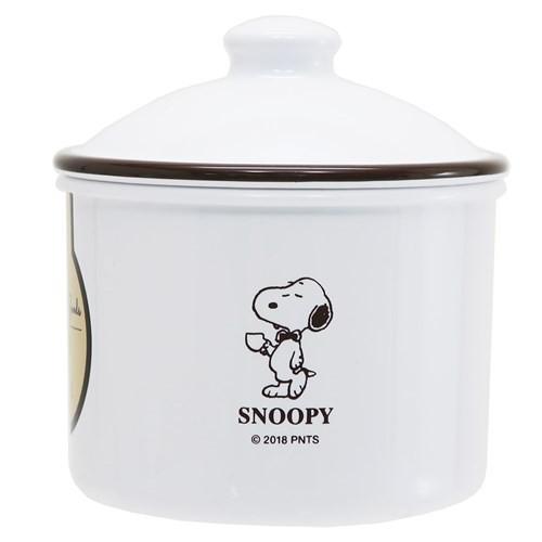 スヌーピー 食品保存容器 ラウンドストッカー S 2019SS ピーナッツ 330ml キャラクター グッズ