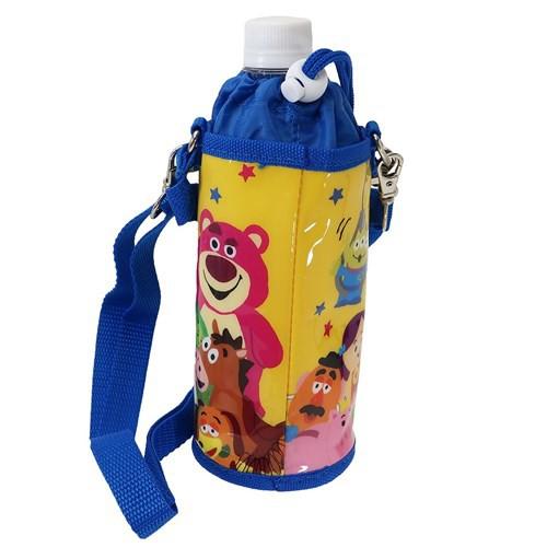 トイストーリー ペットボトルホルダー 保冷 ボトルケース ディズニー ショルダーストラップ付き キャラクター グッズ