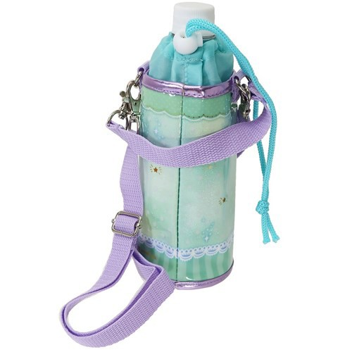 ペットボトルホルダー ドット 保冷 ボトルケース ショルダーストラップ付き 女の子向け グッズ