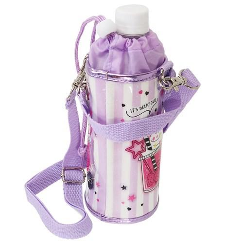 ペットボトルホルダー フロート 保冷 ボトルケース ショルダーストラップ付き 女の子向け グッズ