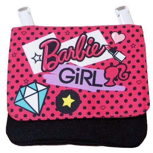 バービー 移動ポケット ポケットポーチ クリップポケット Barbie 女の子向け キャラクター グッズ メール便可