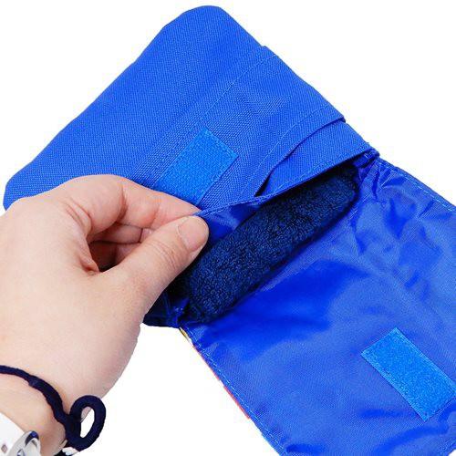 プラレール 移動ポケット ポケットポーチ クリップポケット 鉄道 男の子向け キャラクター グッズ メール便可