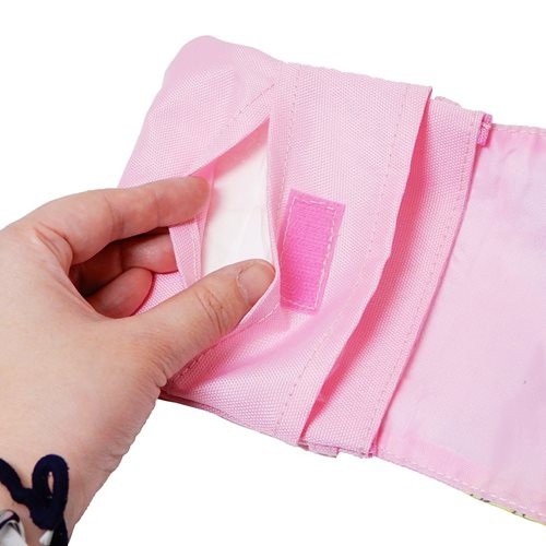 スタートゥインクルプリキュア 移動ポケット ポケットポーチ クリップポケット 女の子向け キャラクター グッズ メール便可