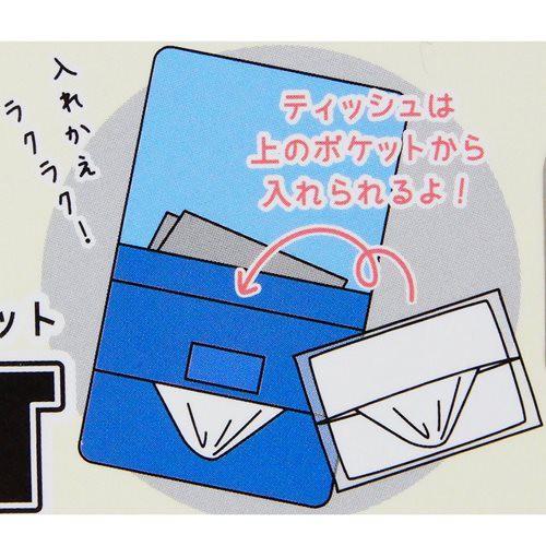 新幹線変形ロボ シンカリオン 移動ポケット ポケットポーチ クリップポケット 男の子向け キャラクター グッズ メール便可