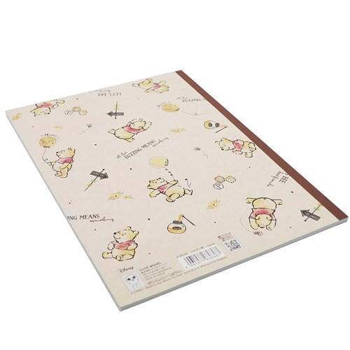 くまのプーさん 英語 ノート B5 英習帳 2019SS ディズニー かわいい キャラクター グッズ メール便可