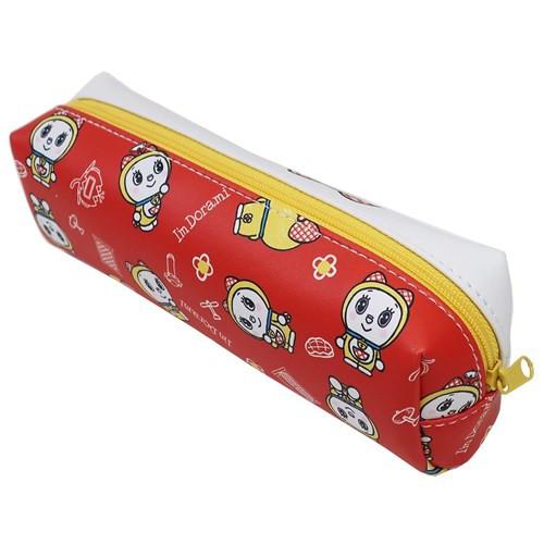 ドラえもん 筆箱 ロングポーチ アイムドラミ サンリオ 20×7×6cm キャラクター グッズ