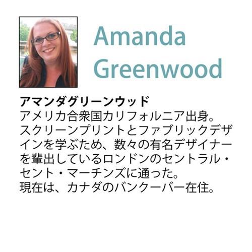 アマンダ グリーンウッド パネル ブランド キャンバスアート ブックスタック メイクアップ(Lサイズ) 取寄品 送料無料