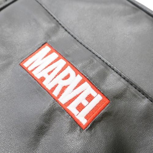 マーベル ショルダーバッグ 合皮 スクエアショルダー MARVEL 16×21×5.5cm キャラクター グッズ