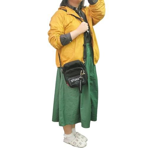 スヌーピー ショルダーバッグ ロゴメッシュスクエアショルダー タグ ピーナッツ 16×22×7cm キャラクター グッズ