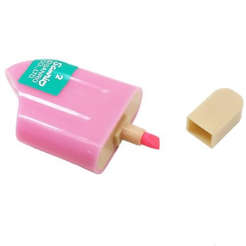 不二家のペコちゃん カラーペン アイスキャンディ マーカー 全6色 プチギフト キャラクター グッズ メール便可