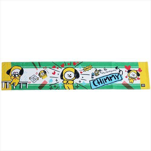 BT21 マフラータオル ロング フェイスタオル CHIMMY LINE FRIENDS 20×110cm キャラクター グッズ