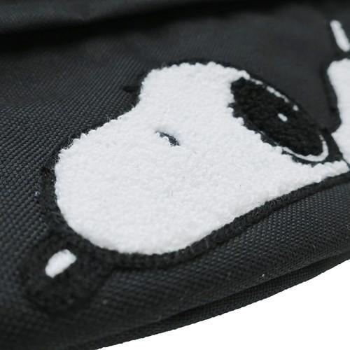 スヌーピー ショルダーバッグ ミニ ショルダーバッグ サガラ刺繍 寝そべりスヌーピー ピーナッツ 30×21.5×10cm キャラクター グッズ