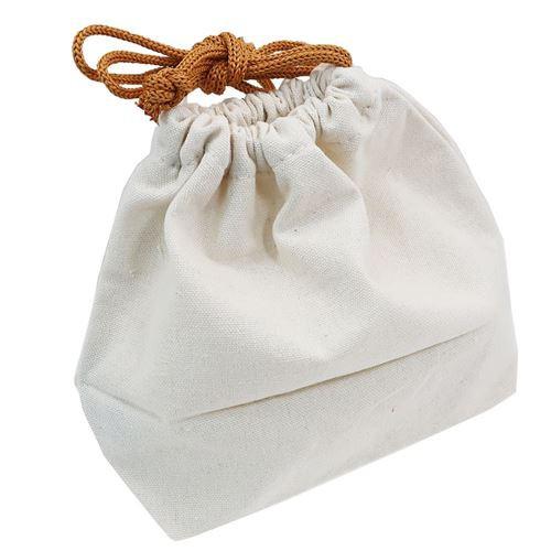 巾着袋 マチ付き きんちゃく ポーチ ゆにこーんさん 21×13×9cm かわいい グッズ メール便可